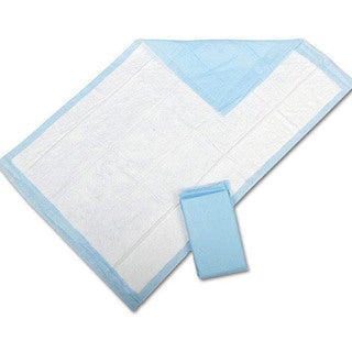 Medline Disposable Underpad 17-inch x 24-inch Fluff-fill Economy (Case of 300)
