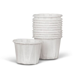 Medline Disposable Paper Souffle Cups, .5 oz (Case of 5,000)