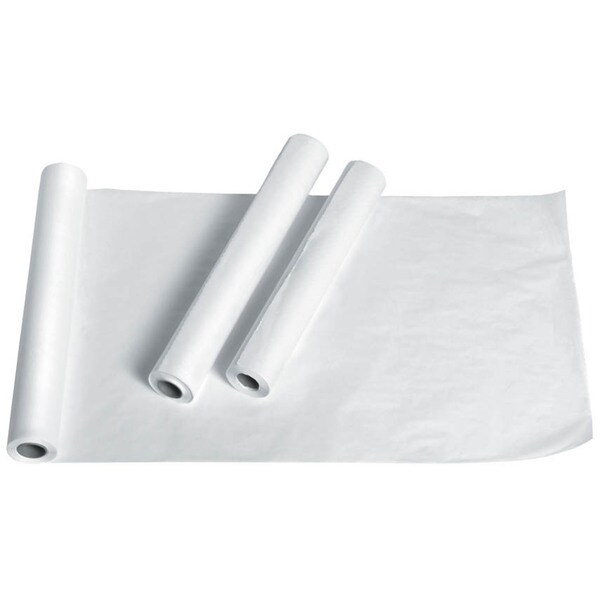 Medline Standard Crepe Exam Table Paper 18-inch x 125 feet (Pack of 12)
