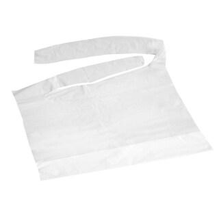 Medline Crumb Catcher 16 inch x 24 inch Plastic Bib (Case of 500)