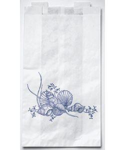 Medline Disposable 6.5-in x 3.5-in x 11.8-in Plastic Bedside Bag (Case of 2000)