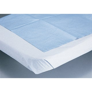 Medline Disposable White Bed Sheets (Case of 25)