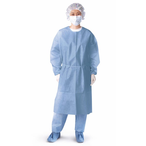 Medline Isolation Gown Cuff Impervious XL (Pack of 50)