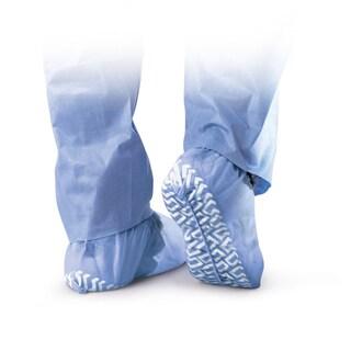 Medline Non-Skid Disposable Shoe Cover - Blue (Case of 300)