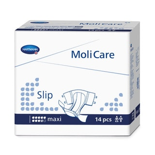 Medline Molicare Super Plus Extended Capacity Briefs - Small (Case of 56)