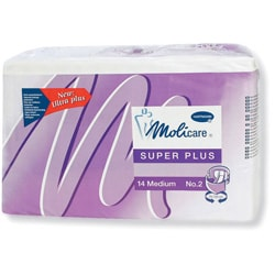 Medline Molicare Super Large/XL Disposable Brief (Case of 56)