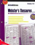 Webster's Thesaurus: Grades 4-8 (Paperback)