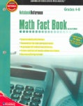 Math Fact Book: Grades 4-8 (Paperback)