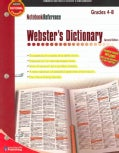 Webster's Dictionary: Grades 4 - 8 (Paperback)