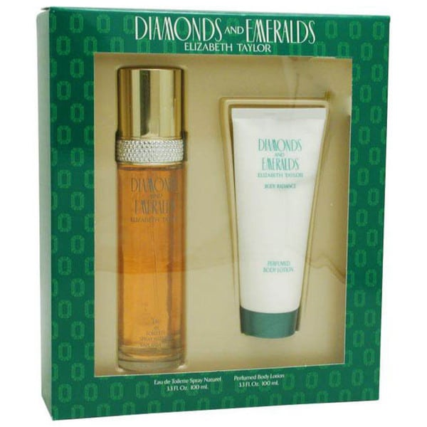 Elizabeth Taylor Diamonds and Emeralds 2-piece Gift Set