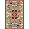 Lyndhurst Traditional Multicolor/ Ivory Rug (3'3 x 5'3)