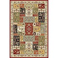 Lyndhurst Traditional Multicolor/ Ivory Rug (5'3 x 7'6)
