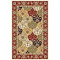 Safavieh Lyndhurst Collection Traditional Multicolor/Red Rug (3'3