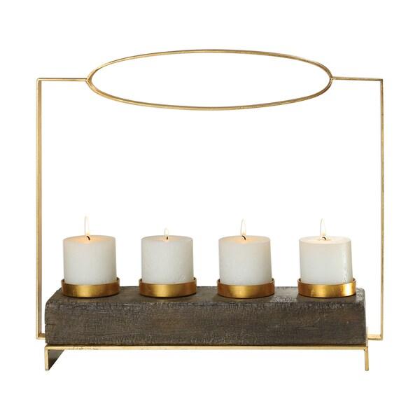 Uttermost Amrit Gold Candleholder 32290641