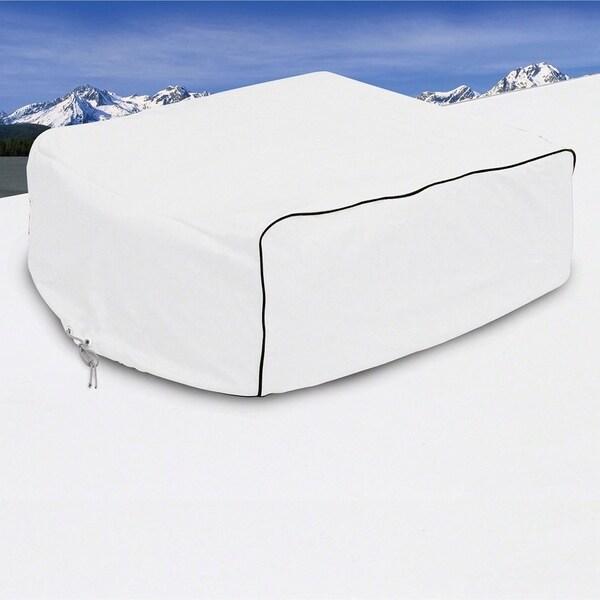 Classic Accessories 77410 RV Air Conditioner Cover, Snow White 32291238