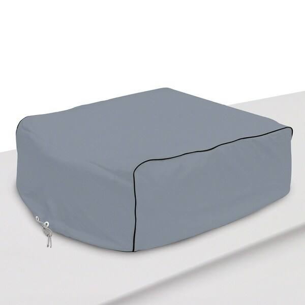 Classic Accessories 80-069-141001-00 RV Air Conditioner Cover, Grey 32291243