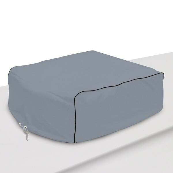 Classic Accessories 80-070-151001-00 RV Air Conditioner Cover, Grey 32291257