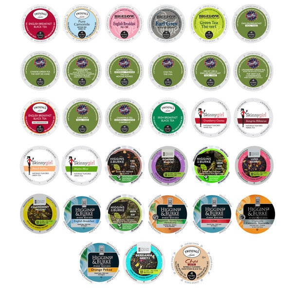 Mix Pack of Bold, Flavored, Gourmet Coffees and Hot Chocolate, Keurig Collection, 33 Count 32292161