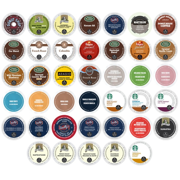 K-Cup Coffee Selection Pack, Massive Brands and Huge Discounts, 40 Count 32292203