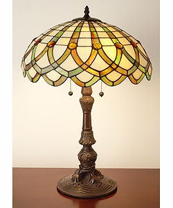 Tiffany-style Ribbon Table Lamp