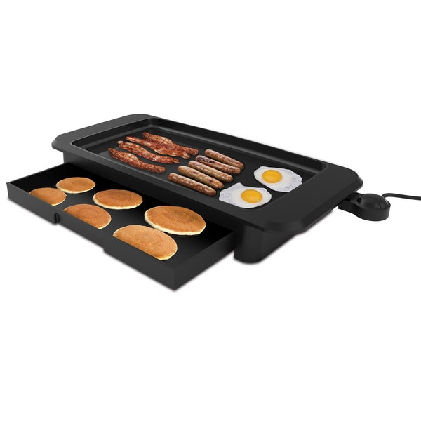 West Bend 66169 Griddle with Warming Tray 32344427