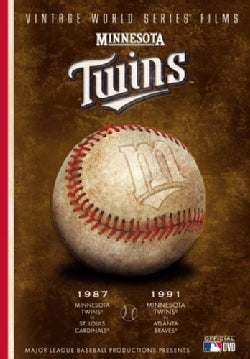Minnesota Twins Vintage World Series Films (DVD)