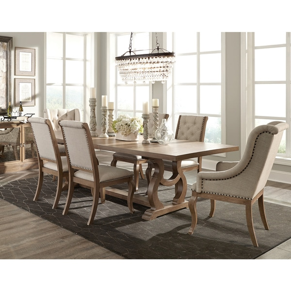 Dining set 7 usa for Ashleigh dining set