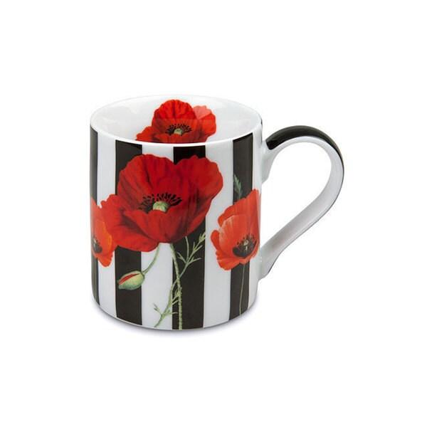 Konitz Set of 4 Madame Petite Stripes Mugs 32391214