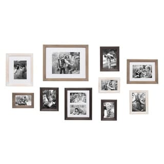 Bordeaux Gallery Wall Kit, Set of 10 Assorted Sizes