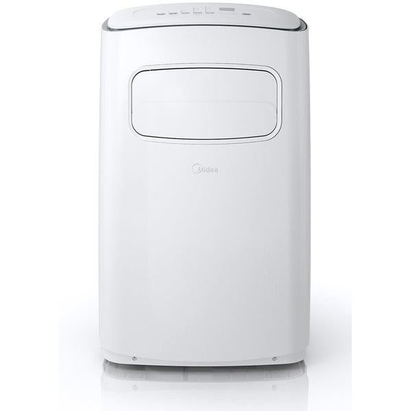Midea EasyCool 10,000 BTU Portable Air Conditioner with FollowMe Remote Control in White/Silver 32422074