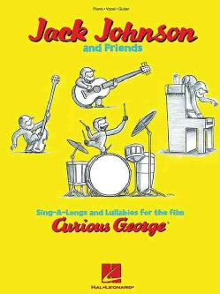 Sing-a-longs and Lullabies for the Film Curious George: Jack Johnson and Friends (Paperback)