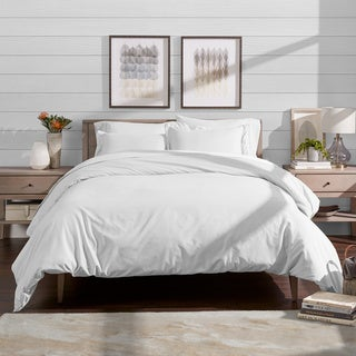 Bare Home Microfiber Duvet Cover & Insert Hypoallergenic Bedding Bundle