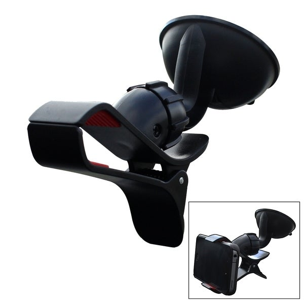 Furinno IP11-BK Easy Mount Suction Universal Car Phone Mount Holder 32451839