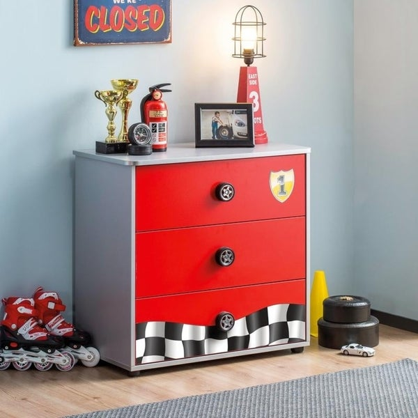 Cilek Race Cup Red Wood Chest 32467328
