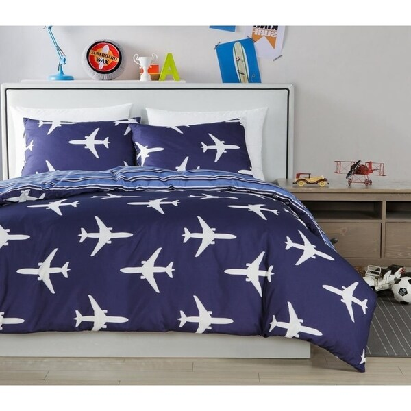 Lala Bash Fly Air Plane 2 Piece Conforter Set 32486199