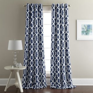 French Impression Victoria Black Out Curtain Panel