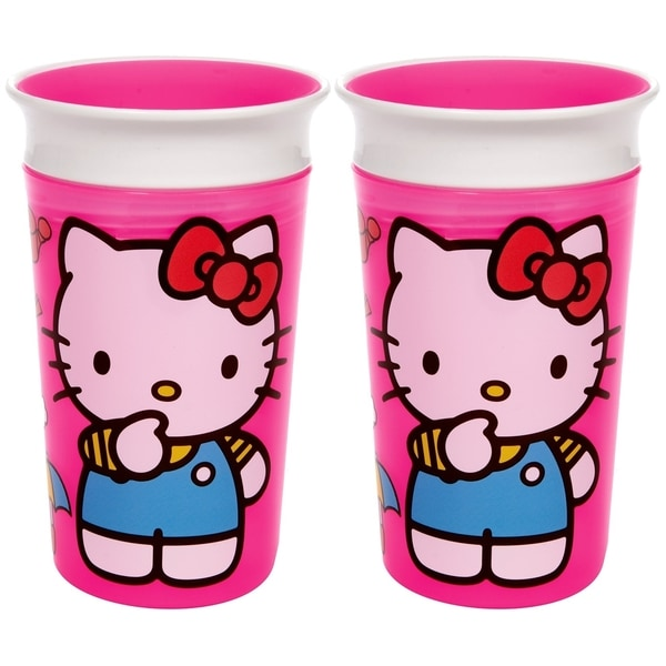 Munchkin Hello Kitty Miracle 360 Sippy Cup - 9 Ounce - 2 Count 32490755