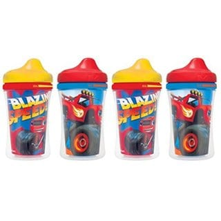 Gerber Graduates Blaze & The Monster Machines Insulated Hard Spout Sippy Cup - 4-Pack 32490800