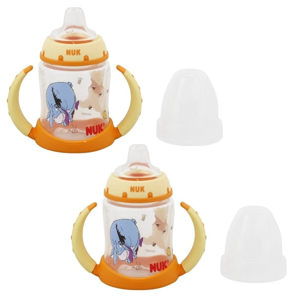 NUK Disney Winnie the Pooh 5 oz Leaner Cup - 2 Count 32490926