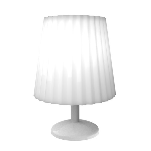 Touch Sensor Lamp- Dimmable, Battery Operated LED Light  by Windsor Home (White) 32490971
