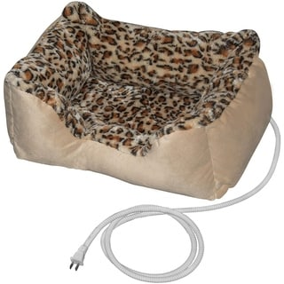 ALEKO Warm Soft Heated Pet Indoor Thermo-Pad Padded Bed