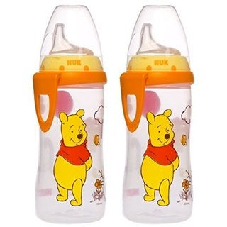 NUK Disney Winnie the Pooh 10 Ounces Active Cup Silicone Spout - 12+ Months - 2-Pack 32491321