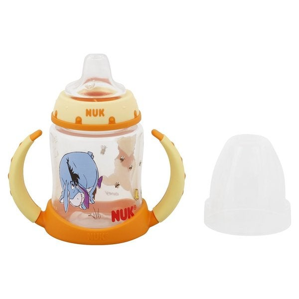 NUK Disney Winnie the Pooh 5 Ounces Learner Cup Silicone Spout - 6+ Months (Pack of 4) 32491360