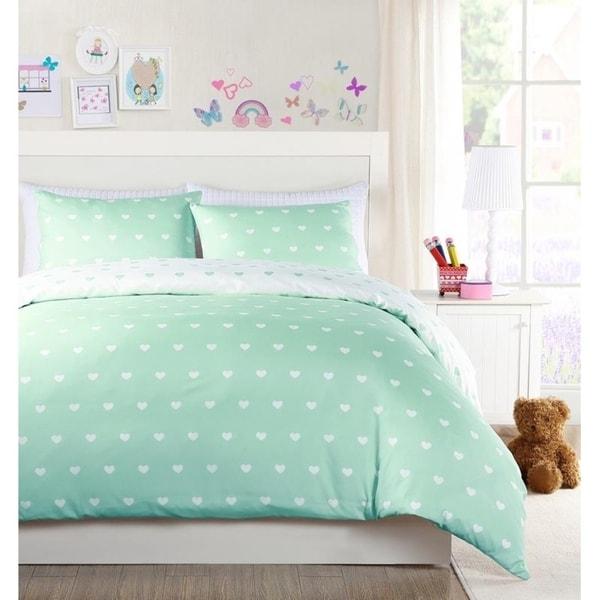 Lala Bash Kelly Heart 2 Piece Comforter Set 32494216