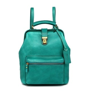Old Trend Genuine Leather Doctor Convertible Backpack