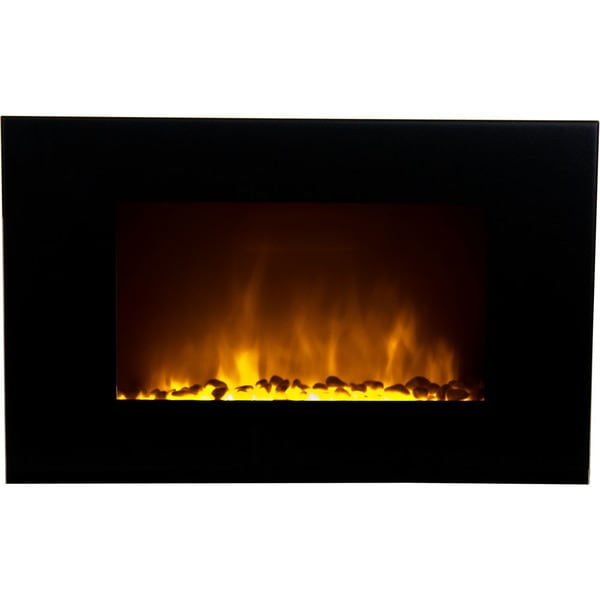 Warm House Oslo Wall-Mounted LED Fireplace with Color-Changing Flame Effect and Remote Control 32524911