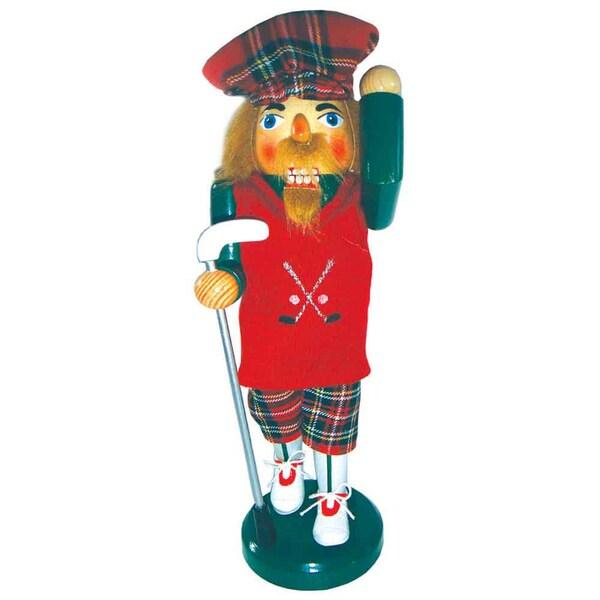 "14"" Golfer Nutcracker 32525011"