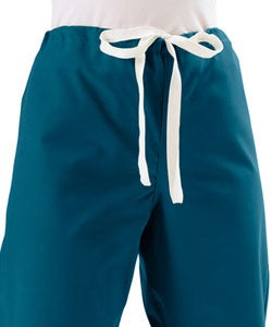 Medline Caribbean Blue Unisex Reversible Scrub Pants