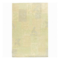 Nourison Hand-tufted Kalahari Light Green Wool Rug (8'6 x 11'6)