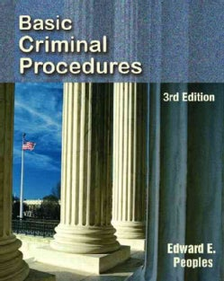 Basic Criminal Procedures (Paperback)